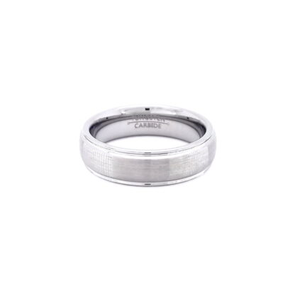 Tungsten Silver Ring